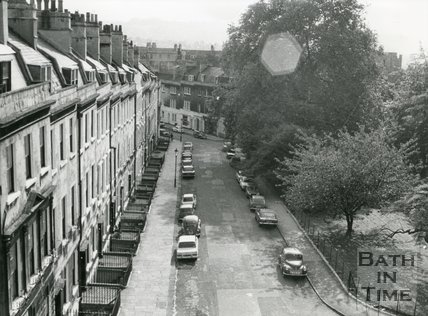 St. James's Square, Bath, 8 October, 1975