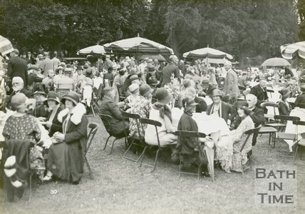 The mayoral garden party, Royal Victoria Park, June 20 1929