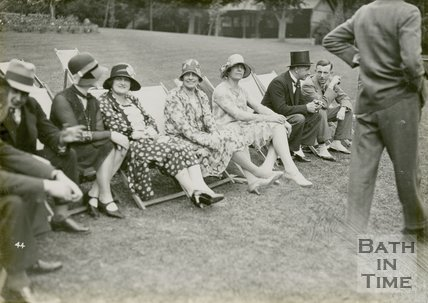 A lovely study of 1929 ladies and mens formal fashion, June 20 1929