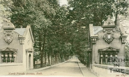 North Parade Avenue, Bath c.1905