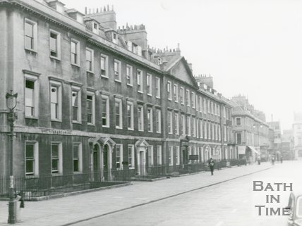North Parade from Duke Street to Terrace Walk, Bath, c.1950s