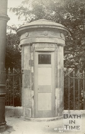 Norfolk Crescent, Watchman's box, Bath c.1905