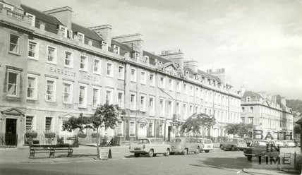 South Parade, Bath, Farrell's Hotel & Pratt's Hotel, c.1960s