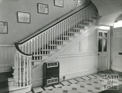 Staircase, Gay Street, Bath, 1952