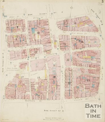 1924 Page 3 Goad Insurance Map of Bath
