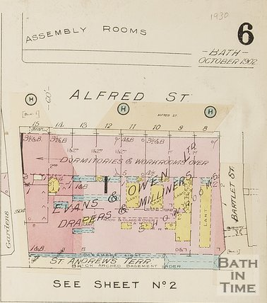 1930 Page 6a Goad Insurance Map of Bath