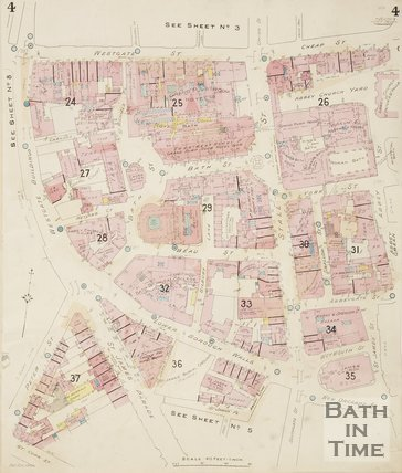 1936 Page 4 Goad Insurance Map of Bath