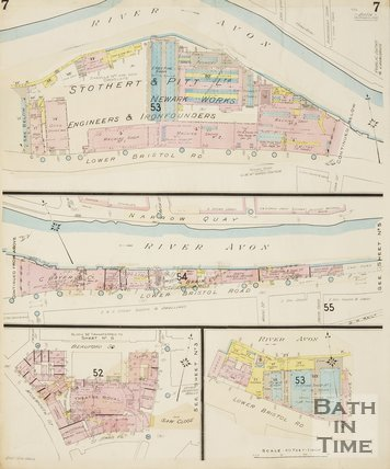Page 7 Goad Insurance Map of Bath 1936