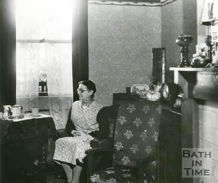 Slum Interior, Bath, c.1950s