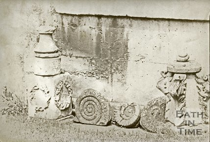 Architectural details, miscellaneous and ammonites, c.1890