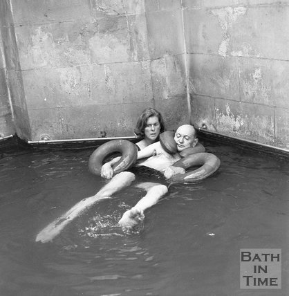The Spa Treatment Centre, Hot Baths, Bath, 7 September 1970