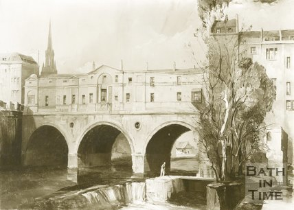 Pulteney Bridge, Bath, c.1850