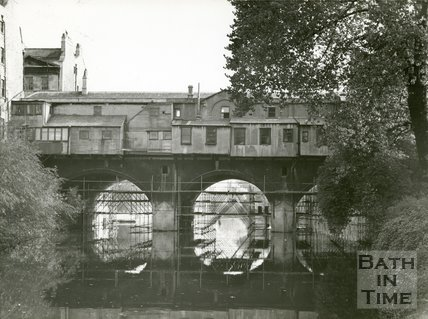 Pulteney Bridge, Bath, c.1950s?