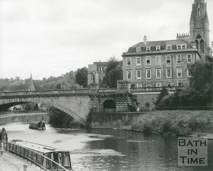 North Parade Bridge, Bath, c.1990