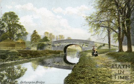 Bathampton Bridge, Bath, 1905