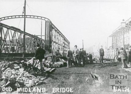Old Midland Bridge, Bath, c.1910?