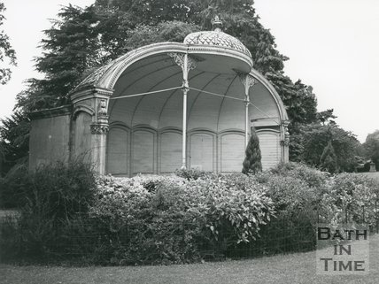 Royal Victoria Park, Bath, Shell Shaped Bandstand, 1972