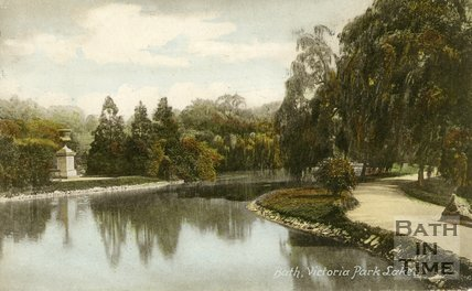 Royal Victoria Park, Bath, Lake, c.1910
