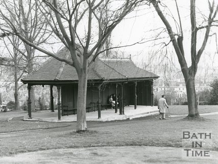 New Shelter at Royal Victoria Park, Bath, 1982