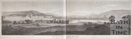 The City of Bath, from the Wells Road, 1804
