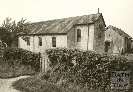 The 'Old' St Barnabus Church, Southdown, Bath, 1954