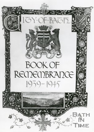 Book of Remembrance Cover Page 1939-1945