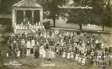 Bath Historical Pageant 1909