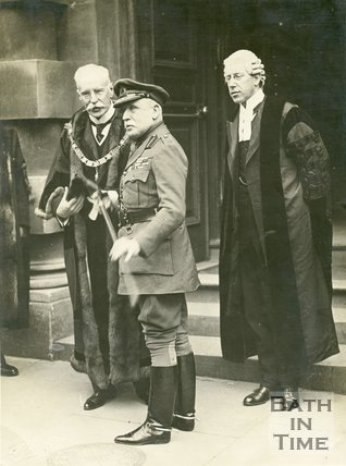 Visit of Lord French to Bath, February 23rd, 1916