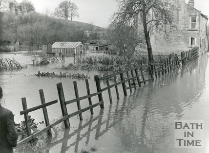 Rudmore Farm, off Locksbrook Road, Bath, 1960
