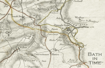Day and Masters Survey of Somerset 1782 - detail