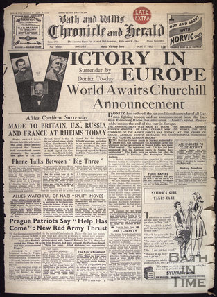 Victory in Europe from page, VE Day, May 7 1945
