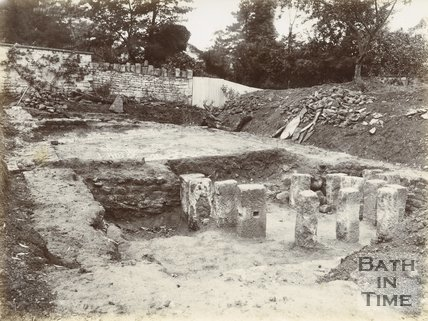 Roman villa excavations, Box 1898