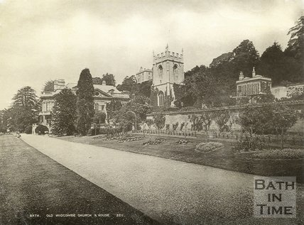 Widcombe Manor and Church, Bath c.1900