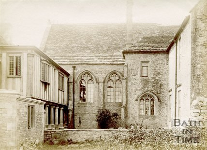 The Cloisters at South Wraxall Manor House c.1890