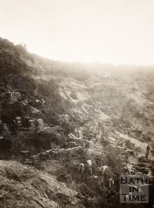 The West Kent Yeomanry camp, The Gully Ravine, near Cape Helles, Dardanelles