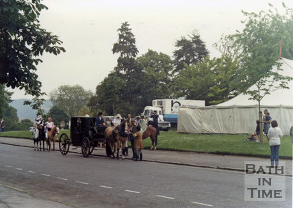The recreation of the Bath Historical Pageant, 1981, Victoria Park