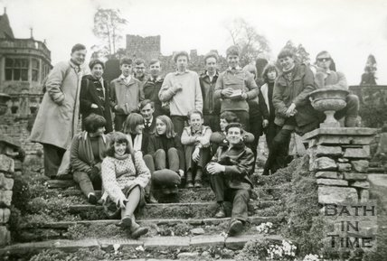 Youth Fellowship group of St Matthew's Church, Widcombe, Bath, Monday 30th March 1964