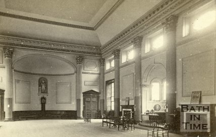 Interior, Grand Pump Room, Bath c.1868