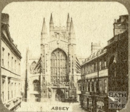 Bath Abbey from Abbey Church Yard, Bath c.1863