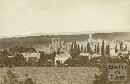 General view of Kelso, Roxburghshire c.1868