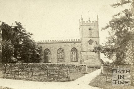 Alderley Church, Gloucestershire 1868