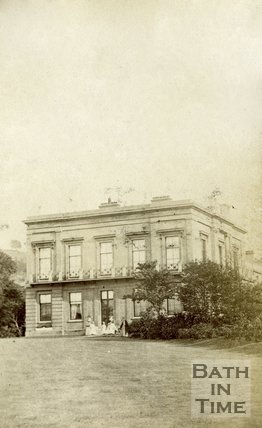 Vellore, residence of Rev. Kemble, now the Bath Spa Hotel, Bath c.1860
