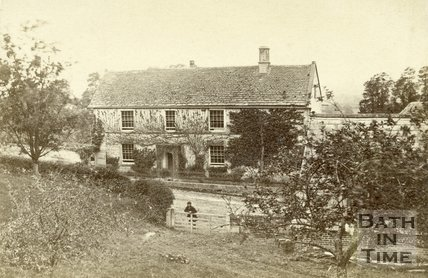 View of an unknown house c.1860