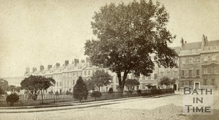 St. James's Square, Bath c.1870