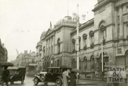 The Guildhall and High Street, Bath 1932