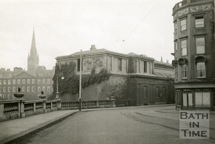 The Bath Royal Literary and Scientific Institution, Terrace Walk, Bath c.1930