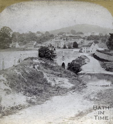 The old ford, Bathford c.1890