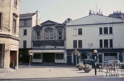 The Odeon Southgate Street, Bath viewed from James Street West, c.1968