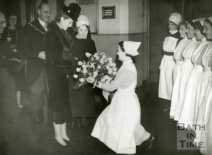 Visit of the Duchess of Kent to Bath, 19th October 1938