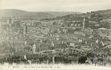View of Bath from Beechen Cliff, c.1905
